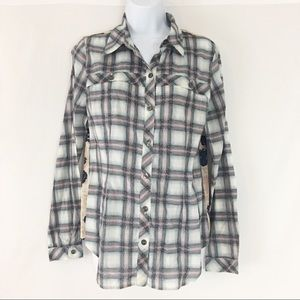 Cabi Mixed Festival Button Up Small  #233